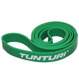 Elastiek - TUNTURI POWER BAND - WEERSTANDSBAND MEDIUM - GROEN