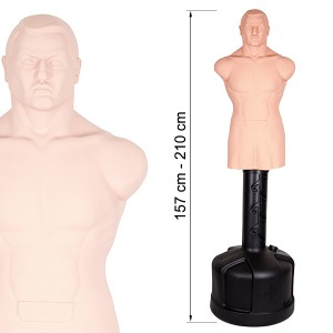 Bob-Staande bokszak - boksdummy - Century BOB - XL op voet white soft torso