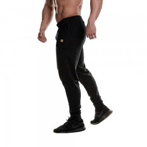 Fitted Jog Pants - Gold's Gym- Black