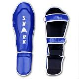 SHARK - Scheen-wreef beschermer Kevlar (blauw)