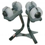 Verstelbare halterset  - EZ Dumbbell set  - 65 kg