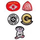 Badges - geborduude emblemen