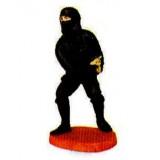 Beeld : ninja met werpster