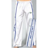 Witte Capoeira pants met imprint M