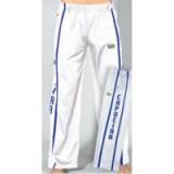 Witte Capoeira pants met imprint L