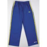 Blauwe Capoeira Pants met gele strepen L
