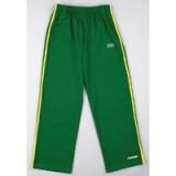 Groene Capoeira Pants met gele strepen L