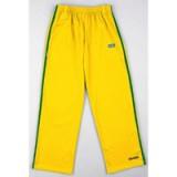 Gele Capoeira Pants met groene strepen S