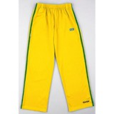 Gele Capoeira Pants met groene strepen M