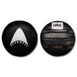Taekwondo target  - trapkussen Rond Shark (zwart)