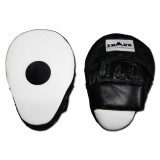 Coaching mitts - Focus mitt -  Hook & Jab -Ovaal LEDER