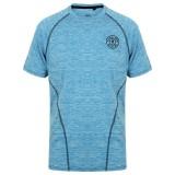 performance T-shirt Gold's Gym: Blue Marl