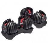 Verstelbare halterset - EZ dumbbell set - Bodytrading Selective Dumbbells.