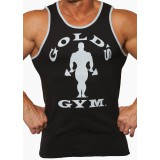 Tanktop/ T-shirt Gold's Gym: Black/Grey Marl