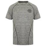performance T-shirt Gold's Gym:  Grey Marl