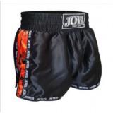 "Joya - Kickboxing short "" CAMO "" - zwart, rood, blauw en roze"