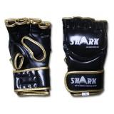 MMA Gloves - Shark - zwart/goud