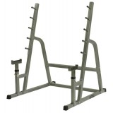 Squat rack Heavy - Met barbell support