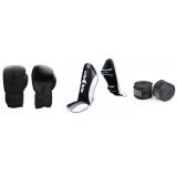 Kickboks Set - Starter Set - GEVORDERDE Pro Leder - Voordeelset
