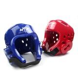 Taekwondo - bescherming - Hoofd / Helm (WTF) (Rood/Blauw)
