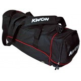KWON – Clubline large (zwart-rood) Large - sporttas